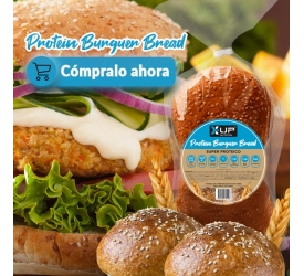 Pan de hamburguesa Proteico X-UP